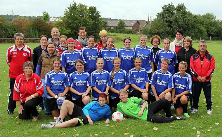 1. Frauenmannschaft Saison 2011/2012